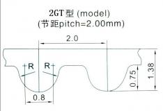 Шкив (ролик) 40-GT2-6 BF алюминиевый для GT2-ленты шириной 6мм, 40 зубьев, на вал 5мм