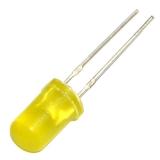 Светодиод желтый 5мм (1.8-2.2В, 5mA-20mA) желтый корпус 585nm