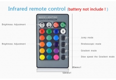 Светодиодная RGB лампа E14 85-265В 5 Вт с дистанционным управлением