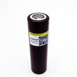 Аккумулятор LG HG2 18650 DBHG2 3.6В 3000мАч, 10.8Wh, максимальный постоянный ток 12А, импульсный ток 30А
