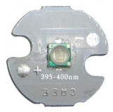 Светодиод Cree 3535 УФ 395 - 400 нм 3 Вт (Ultra violet 3W High Power Led) подложка 16мм