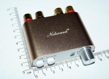 Компактный стереоусилитель с Bluetooth 4,0 Nobsound NS-10G, TPA3116 + Bluetooth 4.0, класс D,  2 х 50Вт,  9-24В