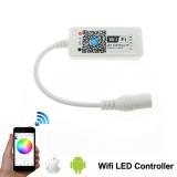 Дистанционное Wi-Fi управление для светодиодных RGB лент типа 3528, 5050 и других, 72Вт 12В, Android, Iphone