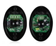 Комплект инфракрасного датчика - детектора пересечения линии, 940нм 1.92кГц, питание 12-24В, релейный выход, ABO-20, однолучевой