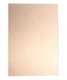 Односторонний фольгированный текстолит FR-4 100х200 мм., толщина 1,5 мм