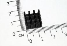 Радиатор 14*14*8 мм, 16 ребер
