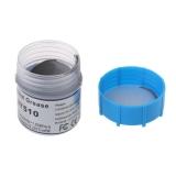 Термопаста HY510 10% серебра серая силиконовая 15 грамм