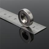 Неодимовый магнит (кольцо) NdFeB D15 x h5 мм отверстие 4мм N35