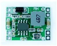 Миниатюрный DC-DC регулируемый преобразователь на чипе MP1583, вход 4.75-23В, выход 1.21-21В, ток до 3.0А