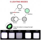 Фонарик светодиодный 1000 lm CREE  XML T6 с изменяемым фокусом, питание 1*18650 или 3*ААА