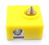Защитный силиконовый чехол для блок нагревателя для экструдера Anet a6 a8 i3 MK7 MK8 MK9, 20*20*10мм
