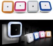 Светильник - ночник светодиодный с датчиком освещенности, 110-220В 0,5Вт