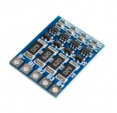 Балансировочная плата BMS 4S 16.8В, ток балансировки 68мА, для 4 Li-Ion или LiPo аккумуляторов