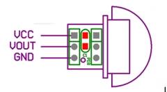 AM312 датчик движения, 2.7-12В, Mini PIR Motion Sensor