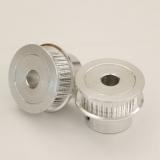 Шкив (ролик) 30-GT2-6 BF алюминиевый для GT2-ленты шириной 6мм, 30 зубьев, на вал 5мм