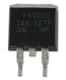 IRF4905SPBF, транзистор P-канал (55В, 74А, 200Вт, 0.02 Ом) [D2 PAK]