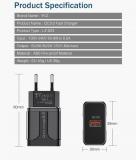 Адаптер питания - зарядное устройство AC 100-240В - DC 5В 3А, 9В 2А, 12В 1.6А, один порт USB QC3.0
