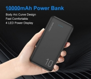 Внешний аккумулятор - зарядное устройство AE-P200 Power Bank 10000мАч dual USB 5В 2.1А