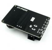 Компактный стереоусилитель XY-P40W 2*40Вт с Bluetooth 5,0 класс D, питание 6-26В, с корпусом и пультом ДУ
