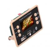 Встраиваемый микро медиацентр Bluetooth 5.0 FM радио MP3 плеер, microSD card USB пульт ДУ 5-12B