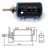 Проволочный многофункциональный потенциометр WXD3-13-2W 5.6 КОм ±5% C±0.3% (переменный резистор)