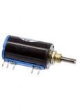 Проволочный многофункциональный потенциометр WXD3-13-2W 4.7 КОм ±5% C±0.3% (переменный резистор)