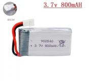 Литий-полимерный аккумулятор 3,7В Syma X5C X5 902540 800mah 25C