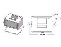 Цифровой контроллер температуры с термопарой, терморегулятор, XH W3001, 220 В, 1500Вт