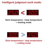 Цифровой контроллер температуры с термопарой, терморегулятор, HW W3001, 12 В, 120Вт