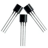 BC547B, транзистор NPN 45В 0.1А 0.63Вт, (TO92)