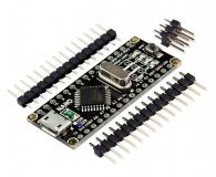 Аппаратная платформа Arduino Nano V3 CH340C/ATmega328P MicroUSB RobotDyn