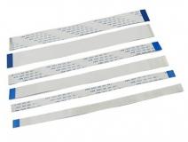 Сверхплоский FFC кабель 60 см с шагом контактов 0,5 мм, 32 контакта (32P) A-Type (прямые контакты), гибкий шлейф