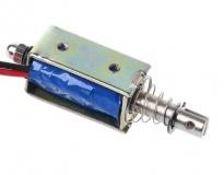 Соленоидный электромагнитный переключатель, 12В, 300 mA,