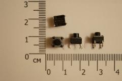 Кнопка тактовая, без фиксации 6 * 6 * 6 мм