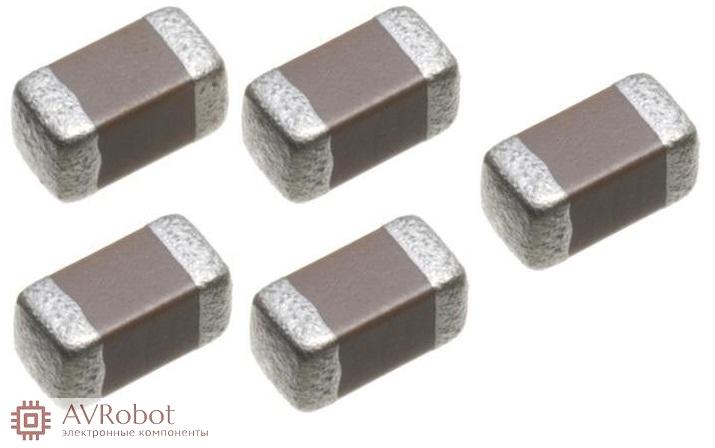 Многослойные керамические конденсаторы - поверхностного монтажа 0603 от компании производителя Murata