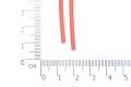 Трубка термоусадочная 2 мм красная
