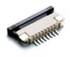 Разъем для поверхностного монтажа под сверхплоский FFC/FPC-кабель c шагом 1 мм (8P)