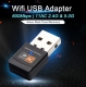 Мини WiFi Dual Band USB адаптер 600Mbps 802.11ac/n/g/b wifi Adapter 2.4 + 5 ГГц, чип RTL8811