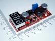 LM2596 DC-DC регулируемый преобразователь с индикатором выходного и входного напряжения, вход 4.5-28В, выход 1,3 - 25В, ток 1.5А