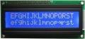 1602А синий LCD-дисплей. (3,3V)