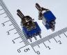 Переключатель / выключатель /тумблер 102, 6А 125V/3A 250V, два положения (ON-ON)