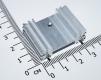 Радиатор 34 * 25 * 12 мм с 2-мя штифтами для прочного крепления (три секции)