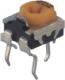 Подстроечный резистор 1 КОм WH06-2C (горизонтальная регулировка)(102)