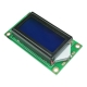 LCD0802 ЖК-экран с синей подсветкой, LCM0802C, 5В