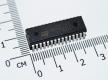 TDA7439, 3х полосный аудио-процессор с цифровым управлением (DIP-30)
