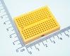 Плата для макетирования электрических схем без пайки (BreadBoard, SYB-170, желтая, 35*47мм)