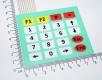 4 × 5 (матрица) 20-клавишная мембранный переключатель / SCM расширенная клавиатура