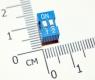 Тумблер 2P 2,54 мм шаг DIP-переключателя (синий)