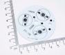 Алюминиевая подложка/радиатор для 3*1Вт светодиодов (SY-LV7770B)