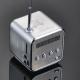 Портативная микро стерео система TD-V26, MP3 - плеер, радио